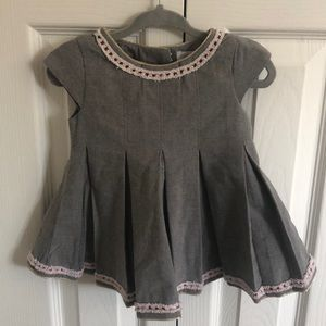 Tahari 3-6 month short sleeve baby dress